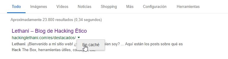 Google Hacking – Lethani
