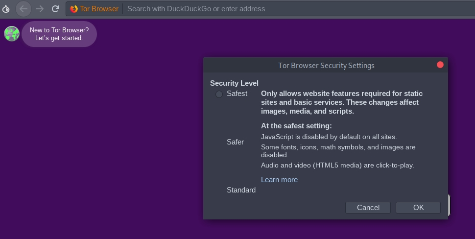Tor browser javascript disabled hydra2web скачать аналоги tor browser hydraruzxpnew4af