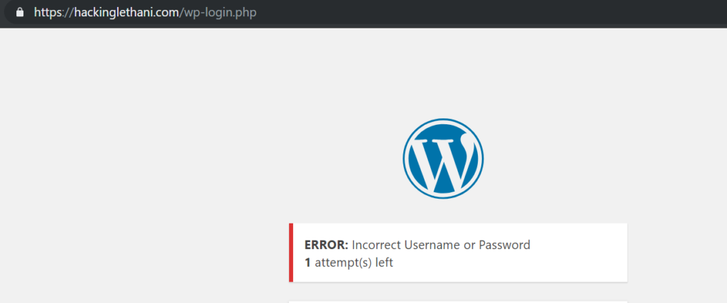 Wordpress Shielding – Lethani