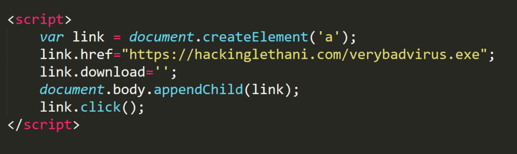 Cross-Site Scripting: XSS Injection – Lethani